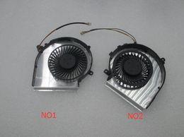 Wholesale Oem Cooler - OEM-CPU AND GPU Cooling Fan For MSI GE72 GE62 PE60 PE70 GL62 GL72 2QD 2QE 2QF PAAD06015SL 3pin 0.55A 5VDC N303 N302