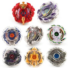 Wholesale top wholesale items - Beyblade BB802 Booster Alter Spinning Gyro Launcher Starter String Booster Battling Top Beyblades B-48 B-66 Novelty Item GGA238 24pcs