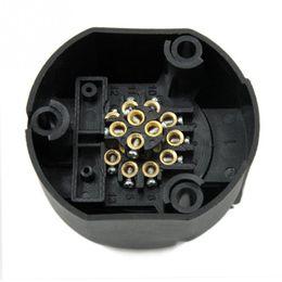 Remorques à câble en Ligne-2018 13 broches 12V Socket connecteur de câble de voiture imperméable affichage de la lumière de signal de remorque européenne