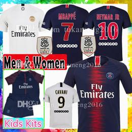 4c5f6773c Paris Saint Germain PSG Soccer Jersey MBAPPE CAVANI VERRATTI DANI ALVES DI  MARIA TSILVA PASTORE DRAXLER LO CELSO Diarra Football Shirts psg jersey on  sale