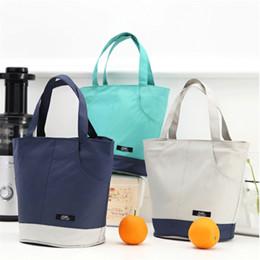 sac à lunch Promotion Sac à lunch portable isolé refroidisseur thermique boîte à lunch