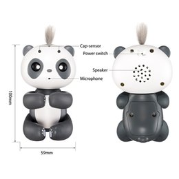 Wholesale Panda Baby Gifts - Finger Baby panda Interactive Smart Pet Induction Toys for kids Christmas gift -M15