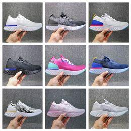 Argentina 2018 Wholesale Zoom Epic React Fly Knit Foam Instant Go Fly Hombres Mujeres Zapatillas de deporte Zapatillas de deporte Zapatillas de deporte sin caja Suministro