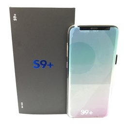 Wholesale Unlock Smart Phones - Goophone 9 Plus 6.2 Inch Unlocked 9+ Phone WCDMA 3G Quad Core Ram 1GB ROM 8GB Android 7.0 Camera 8.0MP with Real Fingerprint Smartphone