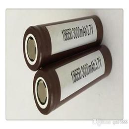 3.7v batería de iones de litio aa Rebajas Alta calidad HG2 18650 batería 3000mAh 35A MAX baterías de litio recargables para LG células VS HE2 HE4 baterías de china