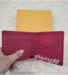 Wholesale Tartan Clutch Bag - New Leather luxury for men women bags Wallets Clutch Handbags Famous Brand Shoulder Totes Bag