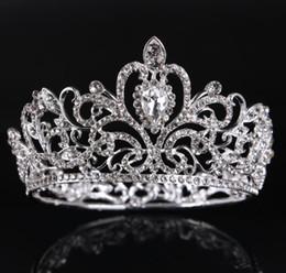 Couronne de mariée, or, argent, cercle complet, ornement à couronne de diamant, ornement de couronne pour enfants, ornements de mariée. ? partir de fabricateur