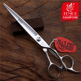 Wholesale Groom Teddy - Master Series scissors, 7.0 inch professional JP440C pet hair scissors for teddy dog grooming cutting straight shears