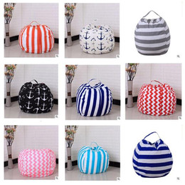 Wholesale Modern Flats Design - Stuffed Animal Storage Bean Bag 43 Designs Chair Portable Kids Toy Storage Bag Modern Creative Storage Play Mat Clothes Organizer Tool