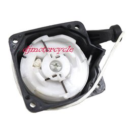 Tagliatore a spazzola erba online-Grass Trimmer Easy Recoil Pull Starter Start Assy Adatto per scooter a 2 tempi 33CC 43CC 52CC Brush Cutter