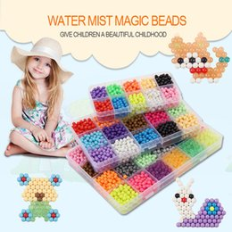 Set Magia Educativa Granos de Agua para Niños Juguetes Paquete Suplementario Cuentas Aqua Rellenar Rompecabezas 24 Colores 3D Puzzle Aquabeads 005 desde fabricantes