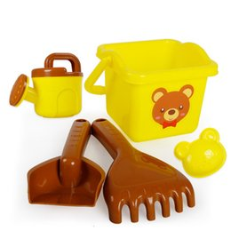 tools play sand Australia - Children's Beach Toy Set Boy Girl Beach toy Baby Scooping Shovel Playing Sand Tools 1-3 Years