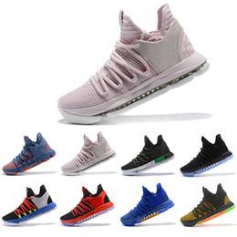 best service 5a0ae 9f398 Haut Mode Nouveau Zoom KD 10 Ce qui reste rouge Kd Igloo BETRUE Chaussures  de basket-ball Hommes Oreo Kevin Durant Elite KD10 Baskets de Sport