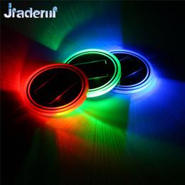 Canada Jiaderui LED Luminous Slot Cup Anti-Skid Pad 2 x Lampe solaire automatique pour atmosphère Tampon pour eau Lampe solaire pour atmosphère intérieure cheap auto pads Offre