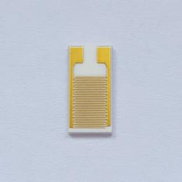 Dernières séries de matrices d'électrodes interdigitées Électrodes pour l'espace de ligne d'électrodes de capteur en or pur 100 um ? partir de fabricateur