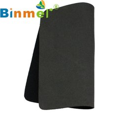 Wholesale Cheapest Wholesale Tablets - Mosunx Top Quality New 22*18cm Universal Mouse Pad for Laptop Computer Tablet PC Cheapest Black SBR + Fabric Mice Mat Apr8
