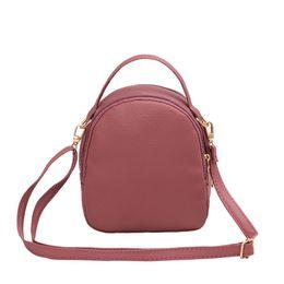 19e34f236b72 Newest 2018 Women Casual Small Style Rucksacks Shopping Bag Soft Shoulder  Bags Crossbody Bag Ladies Hand Bags
