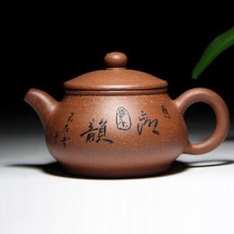 Argentina Cerámica china Zisha Tetera Regalo Tetera Tetera Yixing hecho a mano de buen regalo para padres y amigos Material de cerámica Suministro