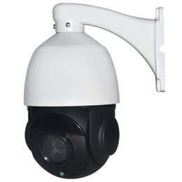 Wholesale Cctv Camera Optical Zoom - 960P P2P speed dome camera 4inch outdoor indoor waterproof CCTV camera 360 degree 4X Optical zoom lens wireless WIFI ptz ip camera ann