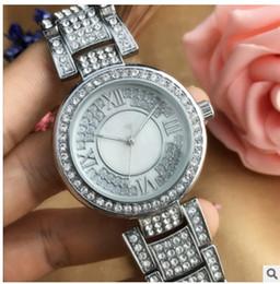 2019 roman belts Style de design classique simple luxe mode cristal diamant romain montres en acier ceinture quartz grand cadran dames montre à quartz en gros roman belts pas cher