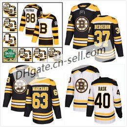 2019 Winter Classic Boston Bruins David Pastrnak Patrice Bergeron Brad  Marchand Zdeno Chara Brandon Carlo Rask Krug Charlie McAvoy Jerseys 8c517bf17