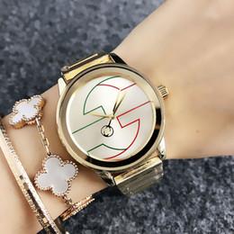 металлические группы Скидка Мода наручные часы Марка женская девушка стиль металл стальной браслет кварцевые часы GU46