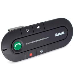 Canada Kit mains libres Bluetooth pour voiture Transmetteur FM 12V 2W Lecteur MP3 Microphone intégré Haut-parleur stéréo Kit de voiture Bluetooth cheap speaker building kits Offre