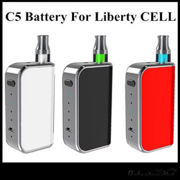 vamp pen starter kit vision spinner Rabatt Neuer Kasten-Umb. 400mAh des Entwurfs-Komodo C5 wärmen Batterie für die Amigo-Freiheits-Patronen V1 V5 V9 X5 A3 vor, die als Vmod gut sind, geben DHL frei