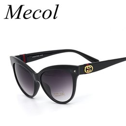 Wholesale Occhiali Da Sole Sunglasses - NEW Gradient Points Cat Eye Sunglasses Women Brand Designer Driving Sun Glasses Oculos De Sol Feminino Occhiali Da Sole M101