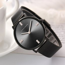 Modern Fashion Quartz Watch Men Women Mesh Stainless Steel Watchband High Quality Casual Wristwatch Gift For Female Dress A20 Watches