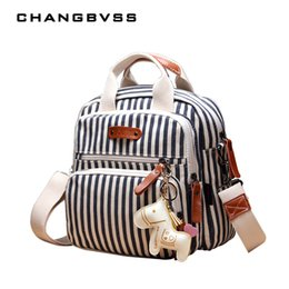 Wholesale Mother Baby Care - Brand Multifunction Diaper Bag Backpack Mother Care Hobos Bags, Baby Stroller Bags Nappy Bag for Mom with Horse Ornaments