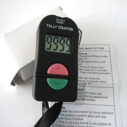 Wholesale tally clicker digital - Hand Held Electronic Digital Tally Counter Clicker Security Sports Gym School ADD SUBTRACT MODEL 1200 pieces up