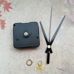 Arbre d'horloge en Ligne-En gros 12MM Axe Balayage 50 PCS Mécanique pour Accessoires Horloge À Quartz avec Black Clock Hands DIY Kits