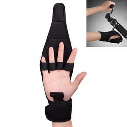 guantes de apoyo para los dedos Rebajas 1pc Anti-espasticidad Rehabilitación de dedos Guantes auxiliares Férula Dedo Recuperación de la mano Agarre Deterioro Soporte de muñeca de mano fija