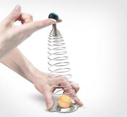 Strumento di progettazione cucina online-Spring Nutcracker Stainless Steel Materiale Macadamia Walnut Opener Frutta Utensili da cucina Brilliantly Designed Nutcracker Strumento professionale