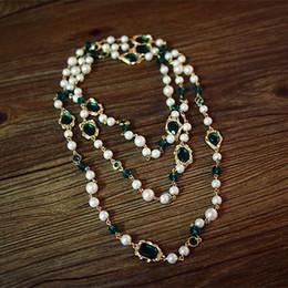 colliers pour copines Promotion Collier de déclaration célèbre filles Europe marque Zinc Alloy Europe Baroque Retro style Bordeaux vert petite amie cadeau femmes bijoux