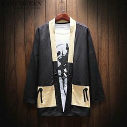 0d947271e85c Kimono cardigan men yukata samurai clothes japanese fashion male yukata  haori japan shirt japanese mens kimono AA3816 Y A
