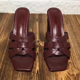 Sandali con tacco alto online-Summer Night Club Sandali Prom Party Stiletti Scarpe da donna Tacchi alti Scarpe da donna Tacco sottile Spedizione