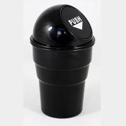 Outlander abs on-line-5 cores abs plástico preto vermelho amarelo cinza azul carro lixeira de lixo poeira para mitsubishi asx outlander lancer pajero