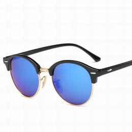 Wholesale Cheap Titanium Bands - New Club Sunglasses Vintage Men Women Brand Master Bands cool Sun Glasses 2018 Mirror Gafas de sol with cases 411 Cheap Sale
