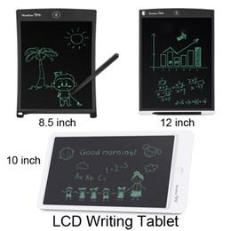 Canada 8,5 pouces 10 pouces 12 pouces LCD tablette à dessin planche à dessin sans papier Digital Pad avec stylo Écriture électronique pour adultes enfants enfants Offre