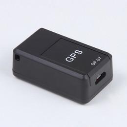 Tracker veicolo personale online-Super Mini GPS Smart Tracker Vehicle Strong Magnetic Free Installazione Localizzatore GPS Localizzatore personale Dispositivo antifurto