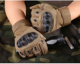 Gants tactiques pour hommes tirant plein gants de doigt sports de plein air paintball carbone chasse dur gant de jarret mk346 ? partir de fabricateur