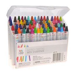 Wholesale art crayons - Nontoxic Oil Sticks Dirty Hand Crayon Security Baby Color Student Art Graffiti Brush Child Painting Wax