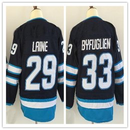 Wholesale hockey discount - 2018 New mens Sports Outdoors 26 WHEELER 29 LAINE 33 Stitched Hockey Jersey,Discount Cheap Athletic Hockey Wear from yakuda 's