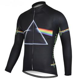 Invierno de la chaqueta de ciclismo online-CHAQUETA DE INVIERNO CHAQUETAS CICLISMO SOLO TÉRMICA ROPA DE LONA LARGA JERSEY CICLISMO 2018 Pink Floyd TALLA: XS-4XL