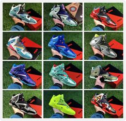 Mens Lebron 11 Shoes Distributeurs en gros en ligne, Mens
