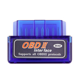 Wholesale Obdii Bluetooth Torque - Mini ELM327 OBD2 Bluetooth Auto Scanner for Android Torque OBDII Car V2.1 Vehicle Diagnostic Interface Scanner drop shipping