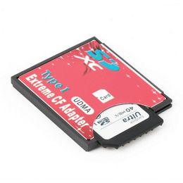 Canada Freeshipping Single Slot Extreme Pour Micro SD / SDXC TF Pour Compact Flash Type I Lecteur de Carte Mémoire Writer Adaptateur Date 100% Haute Qualité Offre