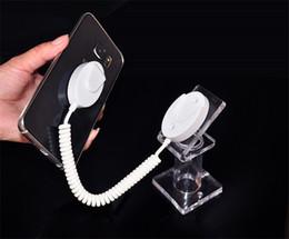 Estante de exposição on-line-100 pçs / lote Acrílico Suporte de Exposição Suporte de Exibição de Telefone Celular Anti-roubo Rack Móvel para Exposição de Segurança Loja